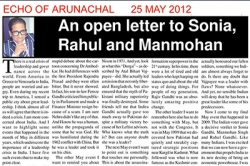 An open letter to Sonia,Rahul and Manmohan - Article by Prof. Arindam Chaudhuri
