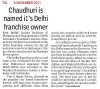 Dr. Arindam Chaudhuri is named i1s Delhi franchise owner